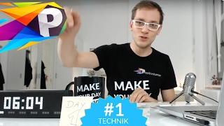 DAY 1 - Start TECHNIK Week, Mach Glück zur Gewohnheit - Positivstarter Club by Tom Tastisch