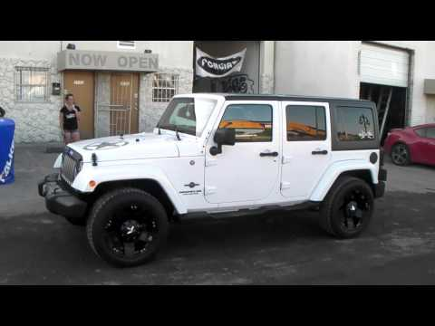 DUBSandTIRES.com 20 Inch XD Series XD775 Rockstar Matte Black 2013 Jeep Wrangler Off Road Rims Miami