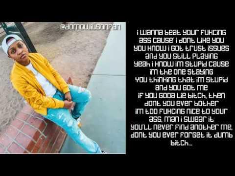 Domo Wilson - Dumb B**ch (Lyrics)
