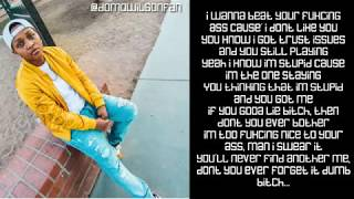 vuclip Domo Wilson - Dumb B**ch (Lyrics)