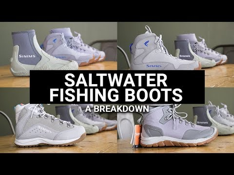 Saltwater Fishing Boots - A Breakdown