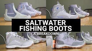 Saltwater Fishing Boots - A Breakdown