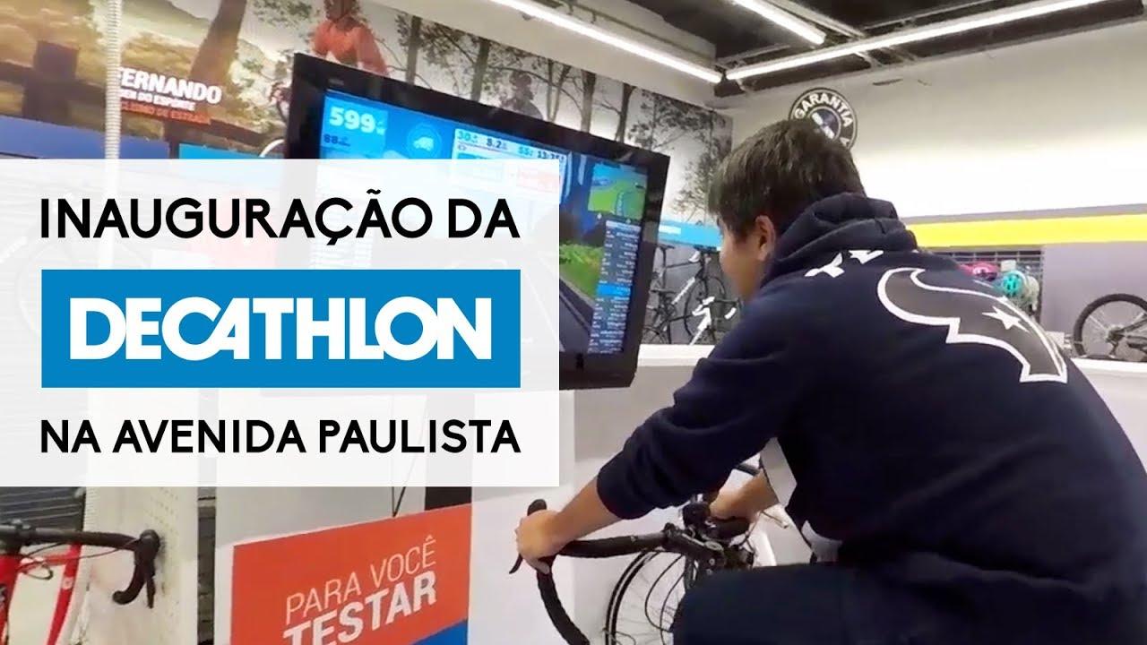b986b79a8 Inauguração da DECATHLON PAULISTA - YouTube