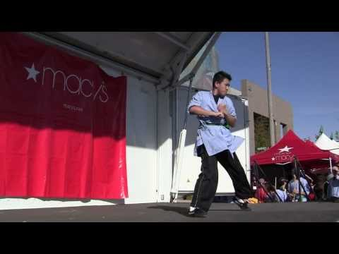 YanJi Shi with students: Shaolin Kung Fu at Alhambra Year of the Dragon Street Fest 2012