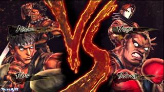 Street Fighter X Tekken Arcade Mode Gameplay (Ryu & Akuma)