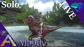 ANKY TAMING AND BUILDING A GREENHOUSE! Solo ARK: Mobile [S1:E12]