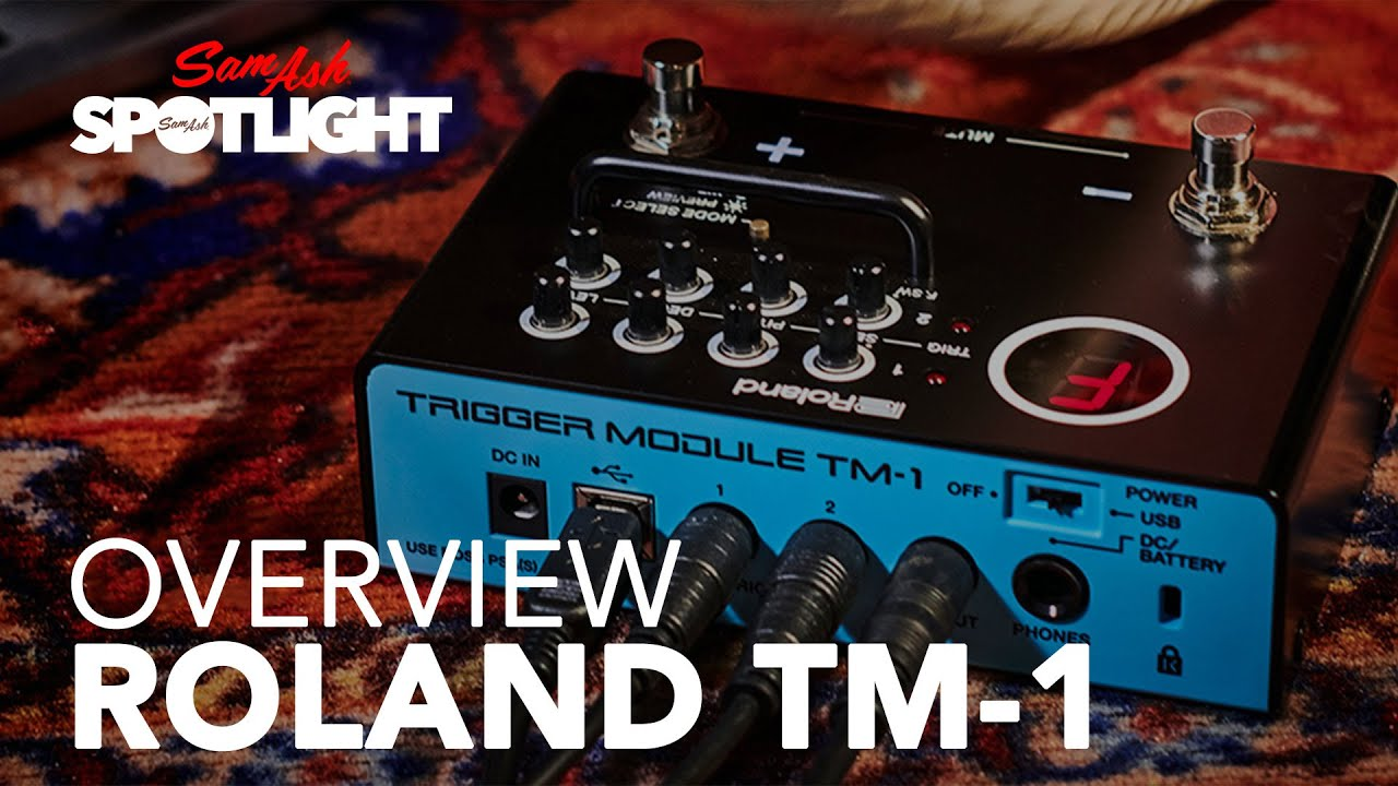 roland tm 1 trigger module everything you need to know youtube. Black Bedroom Furniture Sets. Home Design Ideas