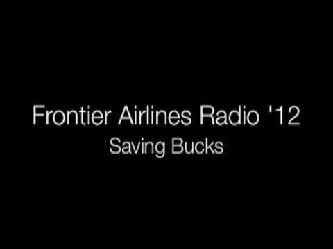 Frontier Airlines Radio Spots 2012