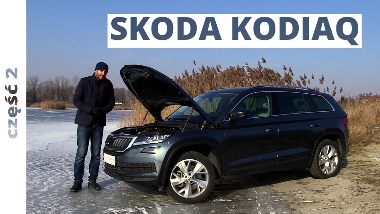 Skoda Kodiaq 2.0 TDI 190 KM, 2017 – techniczna część testu #317