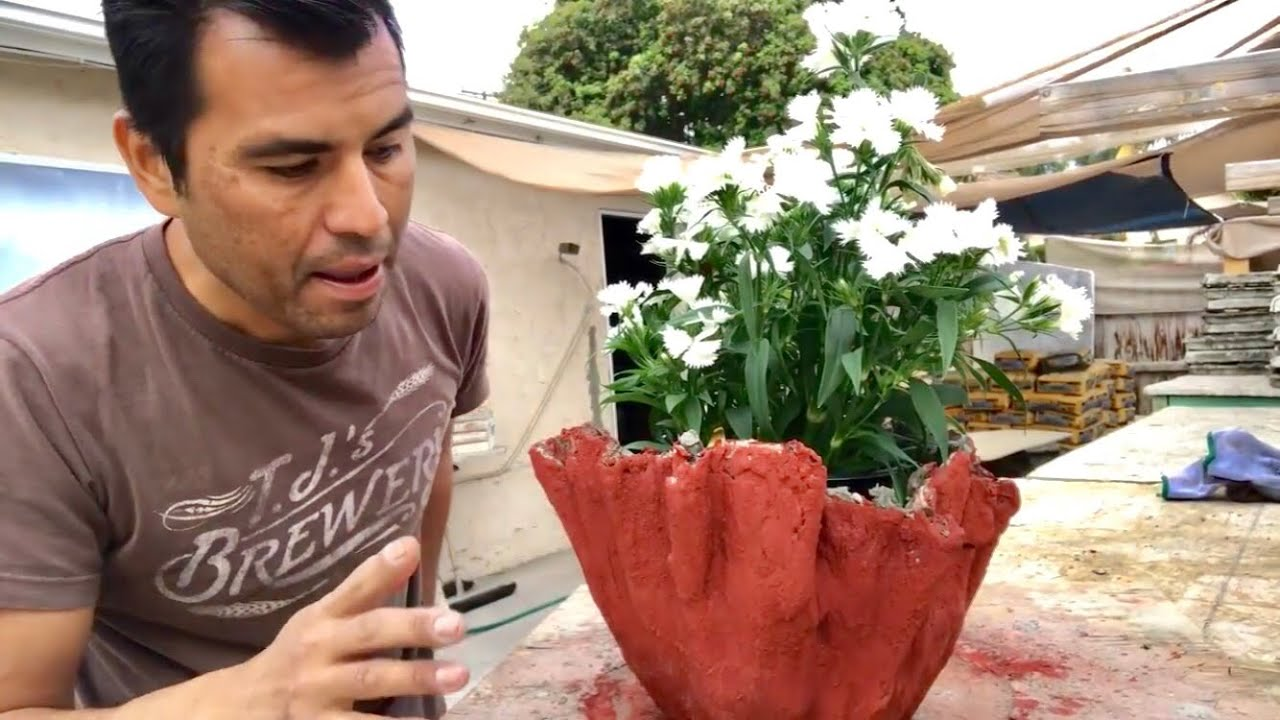 COMO HACER MACETA CON UN VESTIDO DE MI  MAMA | MAKING A DRAPED FLOWER POT FROM MY MOTHER'S OLD