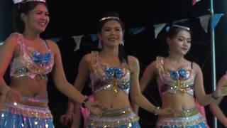 【Phetchaburi Dance】#รำวงเพชรบุรี☀*❤Show★มาลัยน้ำใจ❤♥หนุ่มพลังม้า❤♥จีบสาว❤☀♡★*learn thai
