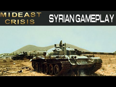 Mid East Crisis - Syrian Gameplay - Command and Conquer Gene