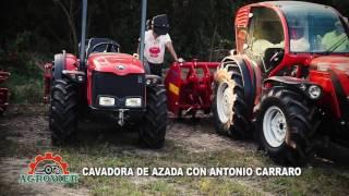 CAVADORA DE AZADA CON ANTONIO CARRARO