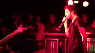 You Me At Six - Josh Flips at Security - Reckless (Live, Underworld 2015)