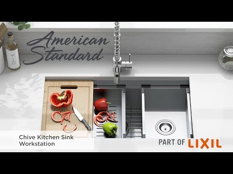 Introducing The Chive Kitchen Sink Workstation By American Standard