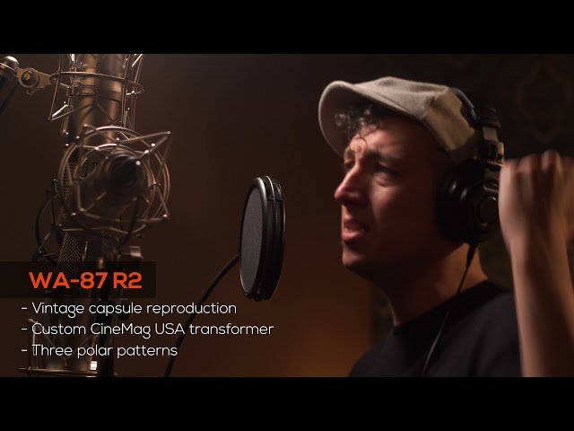 Warm Audio Microphone Shootout ft. WA-251, WA-47, WA-67, WA-87 R2
