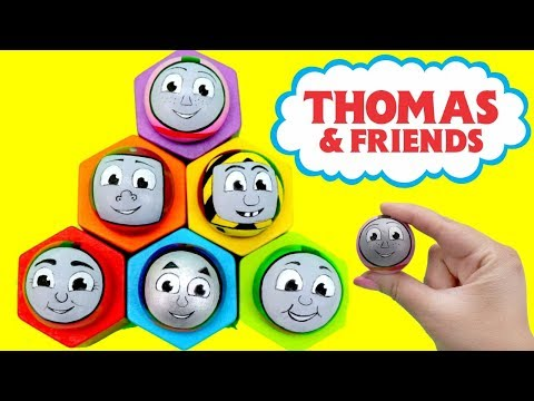 Thumbnail: THOMAS & FRIENDS Toys Ball Pop up Surprise! Disney Baby Learn Colors Toy Train Engine Kids きかんしゃトーマス