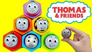 THOMAS & FRIENDS Toys Ball Pop up Surprise! Disney Baby Learn Colors Toy Train Engine Kids きかんしゃトーマス