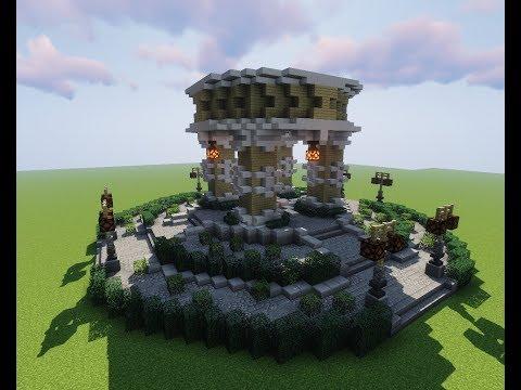 Minecraft how to build Lobby