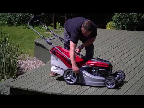 Mountfield SP535-HW Power Driven Petrol Lawnmower (Honda Engine)