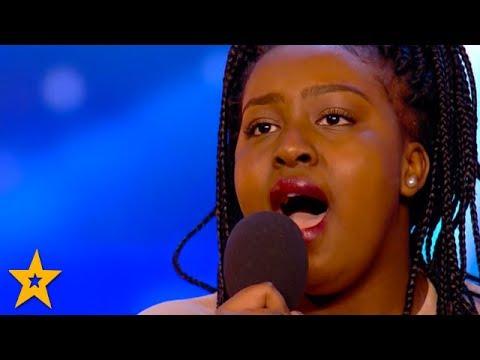 Singer Sarah Ikumu WINS Simon Cowell's GOLDEN BUZZER! | Britain's Got Talent 2017