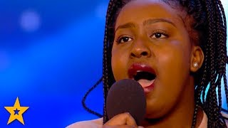 Singer Sarah Ikumu WINS Simon Cowell\'s GOLDEN BUZZER! | Britain\'s Got Talent 2017