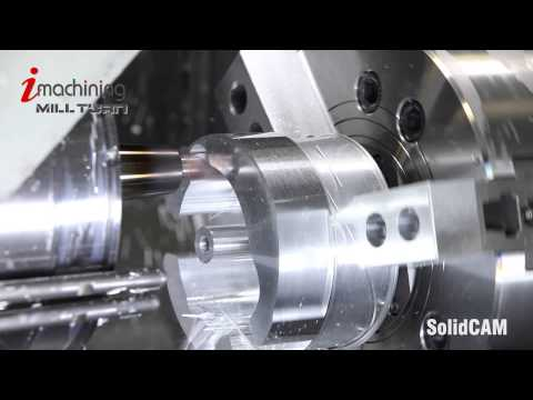 iMachining Mill-Turn Alüminyum