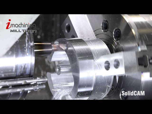 iMachining Mill-Turn Aluminum