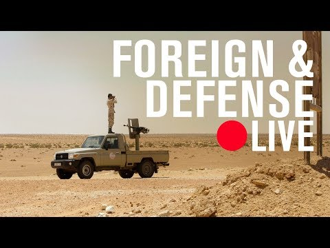 Redefining America's role: A strategy for a brighter future in Libya | LIVE STREAM