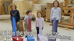 Kids in the Shop: Shaker Step Stool