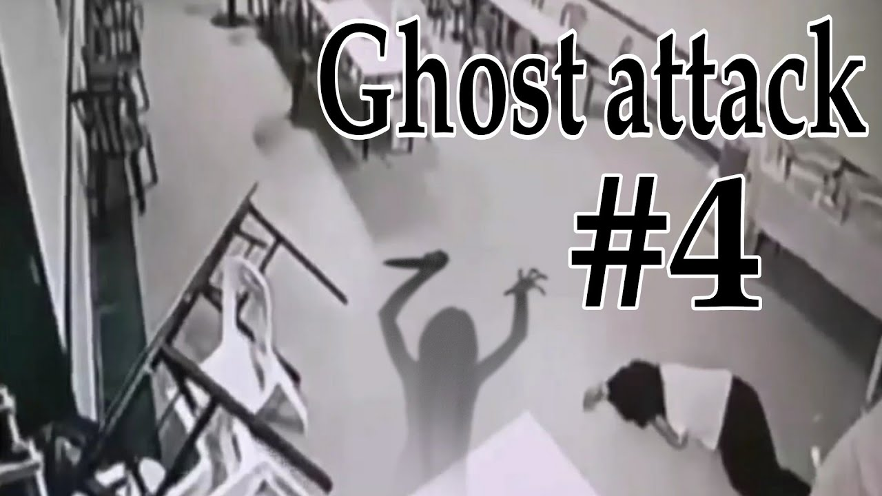 Ghost attack caught on camera