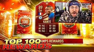 30-0 TOP 100 REWARDS!! RED INFORM KANTE PACKED!! FIFA 21