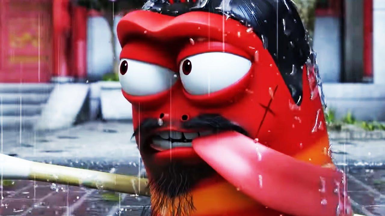 Larva - Kung Fu  2016 Full Movie Cartoon  Cartoons For -4008