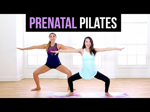 6 MINUTE PREGNANCY WORKOUT w/ Blogilates!