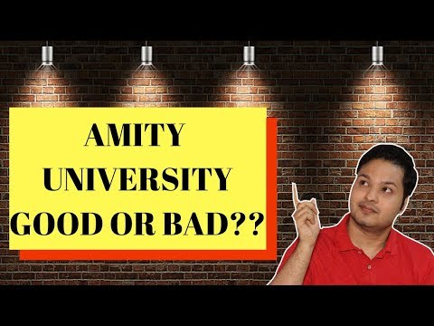 Amity University | Admission | Hostel | Study | Life | Placement