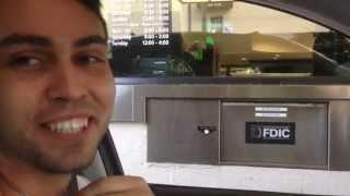 БАНКИ В США не выходя из машины КАК В МАКДОНАЛЬДС drive thru 12.11.15 TD Bank