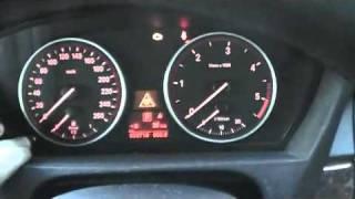 BMW X5 E70 Service interval oil service brake check reset oil engine