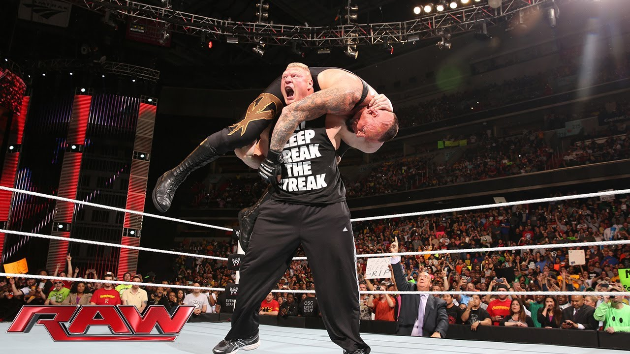 Brock Lesnar The Undertaker