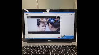 LG 울트라 16인치 고성능 노트북 인터넷 테스트