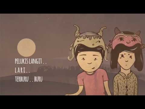 Banda Neira - Pelukis Langit (Lyric Video)