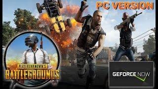 PUBG Versión PC (Gameplay) GeForceNOW - NVIDIA SHIELD