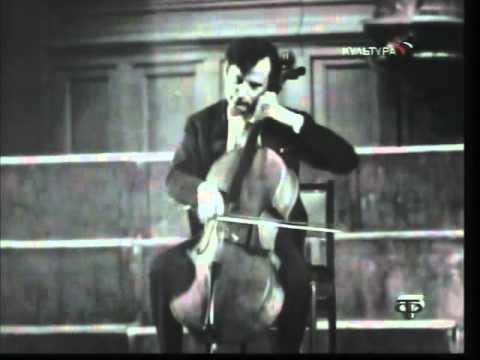 Daniil Shafran - Schubert - Arpeggione Sonata in A minor, D 821