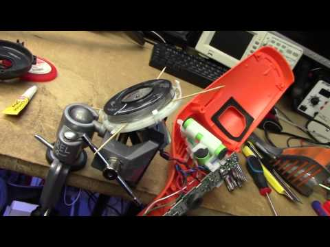 Electrolux Ergorapido Lithium vacuum fan repair & charger ha