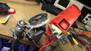 Electrolux Ergorapido Lithium vacuum fan repair & charger hack