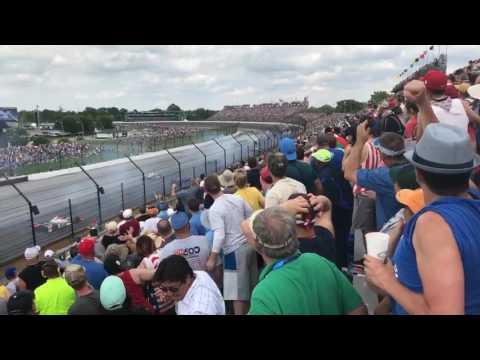 Indy 500 2017 Last 30 laps. Takuma Sato wins!