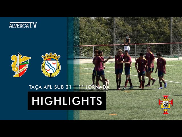 Talaíde 0-5 FC Alverca   Highlights