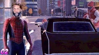 Spider-Man: Web of Shadows Walkthrough Gameplay Part 2 - This Dark Suit is Fire
