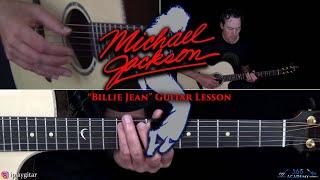 Michael Jackson - Billie Jean Guitar Lesson