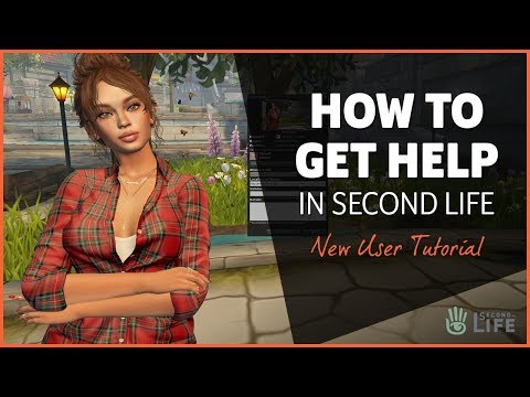 How to Get Help in Second Life - Second Life Tutorial thumbnail