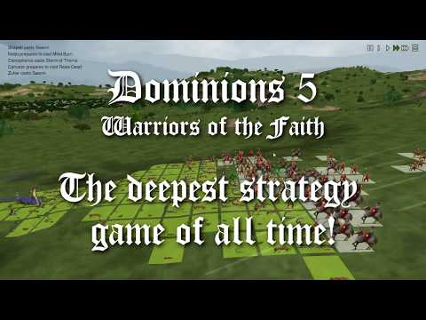 Dominions 5 Teaser Video ~ Game Launch November 27!